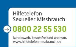 Hilfetelefon 0800 22 55 530